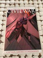 Civil War #1 Captain America Variant Cover NM Marvel comics RARE 2006 Near Mint