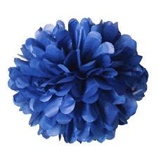 "5Pc Tissue Paper Pom Poms Flower Ball Wedding Party Birthday Decor 6""/8""/10""/12"""