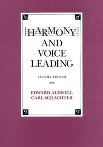 Harmony and Voice Leading (2nd Edition)