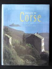 MAISONS DE CORSE - PAR ANNICK STEIN  EDIITONS HAZAN