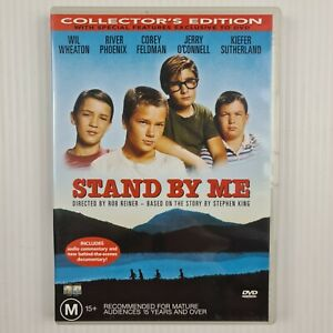 Stand by Me DVD - Wil Wheaton - River Phoenix - Region 4 - TRACKED POST
