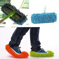 Home Dust Floor Room Cleaning Clean Mop Shoe Towel Slipper Cleaner Lazy Tool 1PC