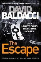 NEW The Escape by David Baldacci John Puller LARGE Paperback FREE POST
