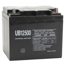UPG 12V 50Ah Wheelchair Battery Replaces 38ah Kung Long WP38-12