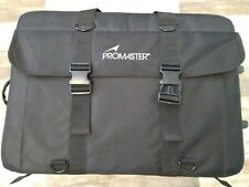 Promaster Rollerback Rolling DSLR Camera Laptop W/ Wheels LARGE