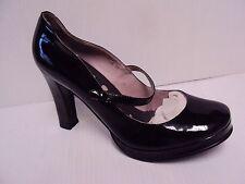 N.Y.L.A. NYLA Women Tarte Mary Jane Patent Leather High Heel Pump Shoe Black Sz9