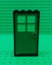 *BRAND NEW* Lego Green Door Black Frame Modular Buildings Houses x 1