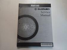 2003 2004 Suzuki RM100 Service Repair Shop Workshop Manual NEW 2nd ED FACTORY