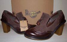 DR MARTENS Jessyca Women's Tassel Brogue Heels Shoes sz US 9/EU 41/UK 7 New NIB