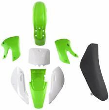 Kawasaki KLX110 Plastics Fenders Faring Kit & Tall Seat For DRZ KX RM 65