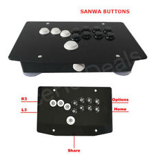 RAC-J500B SANWA Buttons Fight Stick Game Controller Hitbox Joystick for PS4