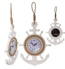 Uhr Im Holz-anker maritim Wanduhr 830393