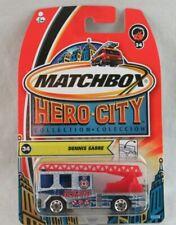 Matchbox Hero City Dennis Sabre #34