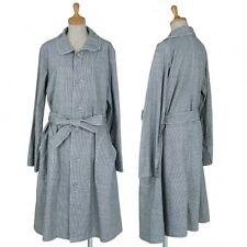 45rpm Cotton Hound Tooth round collar coat Size 3(K-34961)