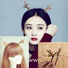 Mori Style Cute Little Deer ELF cosplay Antlers headband Headdress fit Ladies