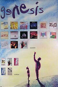 Genesis 1991 We Can't Dance Original Promo Poster I
