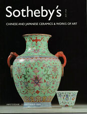 SOTHEBY'S CHINESE AND JAPANESE CERAMICS & WORKS OF ART / AMSTERDAM 22 NOV 2004