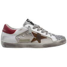 Golden Goose sneakers women superstar GWF00103.F000156.80188 Silver/White/Tobacc