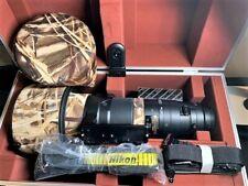 New listing Nikon Af-S Nikkor 600mm f/4G Ed Vr