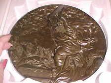Moses and the Ten Commandments Plate Treasures  Dore Bible w COA Box etc..626