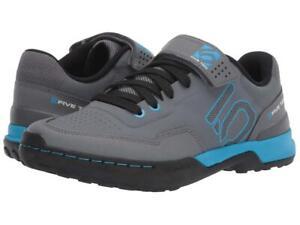 New Women's Five Ten 5.10 by Adidas Kestrel Lace Bike Shoes Size 7 Grey/Blue
