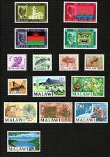 "Malawi 1964 short set of 11 to 5/- sg215/25 & ""Independence"" set of 4 sg211/4."