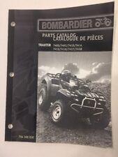 Can Am Parts Catalog Manual 2000 Traxter 7400 7401 7413 7414 7415 7416 7417 7418
