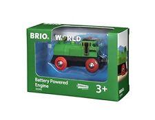 Brio World - 33595 Locomotive a Pile Bi directionnelle verte