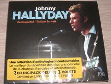 Johnny Hallyday - Sentimental - Retiens La Nuit / 2 CD + LIVRET NEUF
