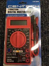 Cen-Tech 7 Function Digital Multimeter 69096 Electrical Test Meter NEW