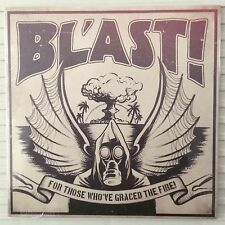 "BL'AST - For Those Who've Graced The Fire! 7"" Red Vinyl Dave Grohl Foo Fighters"