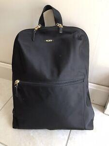 Tumi Voyageur Just In Case Nylon Travel Backpack Foldable/Packable Black