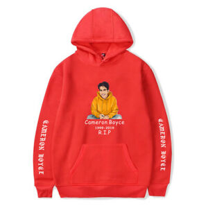 Newest Cameron Boyce R.I.P Printed Hoodie Casual Hooded Sweatshirt Sweater Tops
