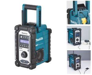 Makita DMR110 Baustellenradio DAB, DAB+ Radio 7,2-18 V Nachfolger vom DMR105