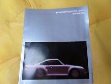 Porsche 959 Foldout Brochure - German Text - RARE