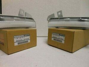 Genuine Nissan 08-16 R35 GT-R GTR Rear Clear Bumper Reflector Lenses Set F/S