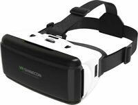 VR 3D Glasses Virtual Reality Headset For Android 7 6 X 8 Plus S9 iPhone V6Q5