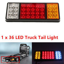 12V 36 LED Tail Light Rear Lamp Caravan For LED Truck Trailer Ute 3 Colors 1PC