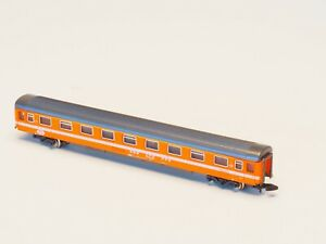 8741 MARKLIN Z -scale Eurofima passenger coach SBB Orange Switzerland SBB 1st cl