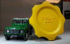 Land Rover 90 110 Discovery Defender 200TDi 300TDi Yellow Oil Filler Cap OEM