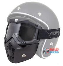 Armr Moto Streetfighter Urban Motorrad/Ski / MX / Paintball Maske Brille