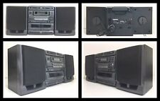 Rare! Boombox 1997 AIWA CA-DW680 Twin CD FM-AM Dual Cassette Carry Component