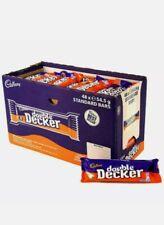 24 x 54.5g Bars Cadbury Double Decker Chocolate Bar Half Box  BB 09.10.20 Cheap