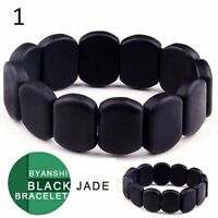 Bian shi Jade Bracelet for health unisex. Natural Bian Stone. Read description