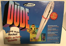 Estes The Dude Giant 7ft giant flying Rocket. New In Box