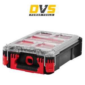 Milwaukee 4932464083 Packout Compact Organizer Case Toolbox