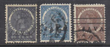Netherlands Indies 1908 Java overprint part set fine used
