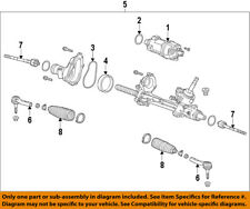 GM OEM Steering Gear-Outer Tie Rod End 22776539