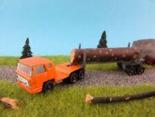 Camions miniatures orange Majorette