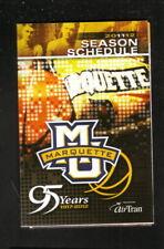 Marquette Golden Eagles--2011-12 Basketball Pocket Schedule--Coors Light